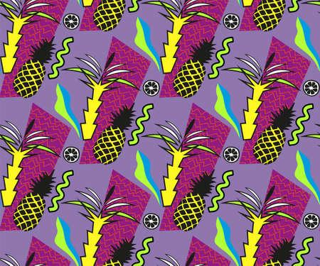 Vector decoration seamless pattern, colorful design, vector illustration