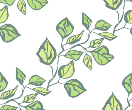 Seamless floral pattern with  sakura flowers and ornamental decorative background. Ilustracja