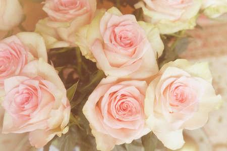 Natural Beautiful Rose bouquet flowers background 版權商用圖片