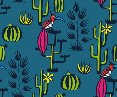 Vector background hand drawn exotic plant. Hand drawn ink illustration. Modern ornamental decorative background. Vector pattern. Print for textile, cloth, wallpaper, scrapbooking