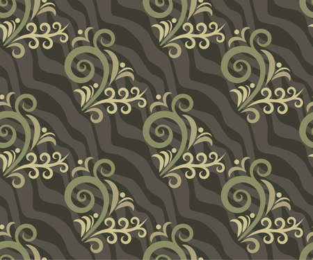 ornamental hand drawing decorative background. Ethnic seamless pattern ornament.