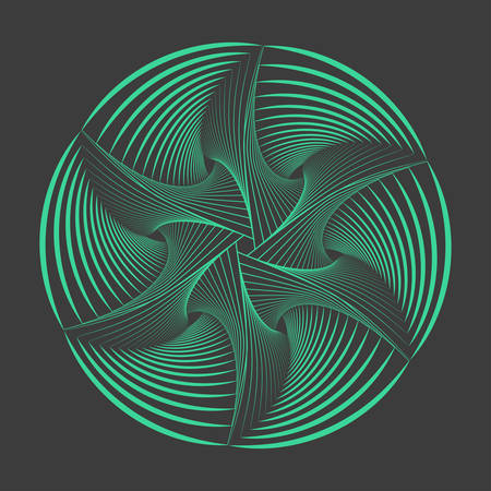 spirograph: Abstract spirograph element. Vector spirograph. Illustration