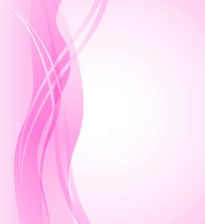 Abstract background with pink vertical wave. Vector illustration for your web design, desktop wallpaper. 版權商用圖片 - 125462075