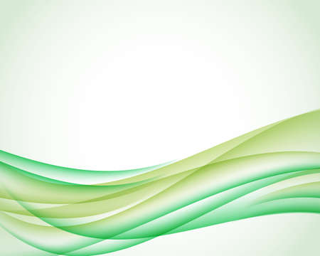 Abstract background with olive and green vertical wave. Vector illustration for your web design or website.