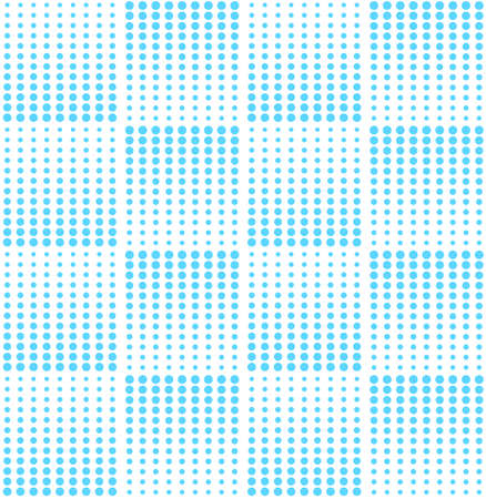 Abstract geometric blue graphic design print halftone pattern. Vector illustration