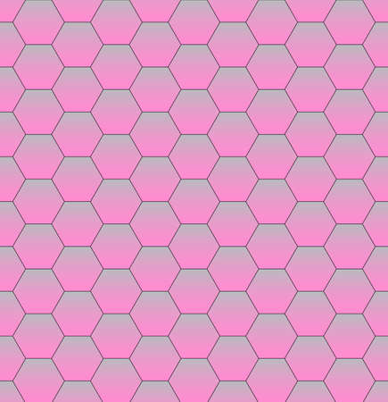 Pink Abstract Hexagon Texture. Hexagon pattern background. Modern design. Vector illustration
