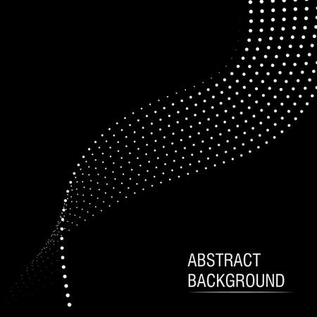 Vector halftone dots abstract business background Stock Illustratie