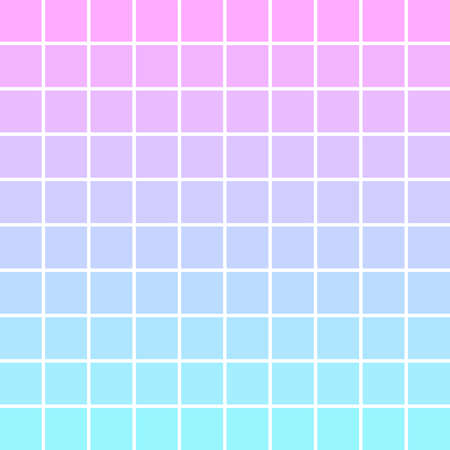 Vector background in the form of squares with a smooth transition of color. Modern design. Vector illustration  イラスト・ベクター素材