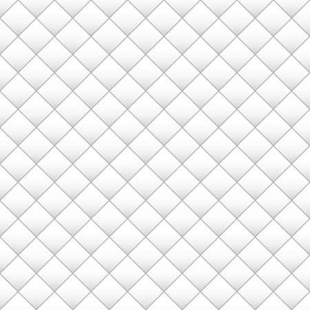 Monochrome seamless square texture. Abstract square pattern background. Banco de Imagens - 125462258