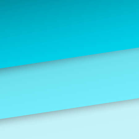 Abstract background with blue paper layers. Banner on blue paper layers background. Vector 向量圖像