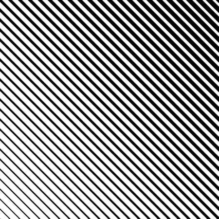 Linienhalbtonmuster mit Farbverlaufseffekt. Diagonale Linien. Vorlage für Hintergründe und stilisierte Texturen. Gestaltungselement.