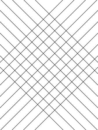 Geometric simple black and white minimalistic pattern, diagonal thin lines. Can be used as wallpaper, background or texture. Vector illustration