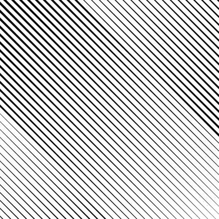 Line halftone with gradient effect. Diagonal lines. Template for backgrounds and stylized textures. Design element. Stockfoto - 125462362