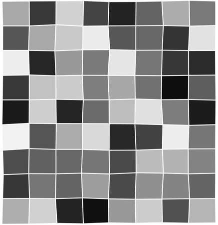 Abstract monochrome squares. Geometric mosaic vector background. Geometric mosaic background. Vector illustration