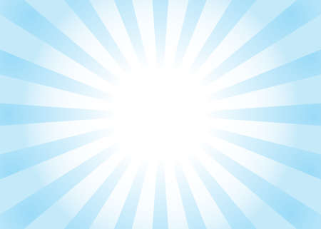 popular abstract blue and white ray star burst background. Vector illustration. television vintage 向量圖像