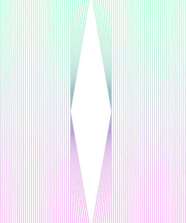 Abstract vector wallpaper with strips. Gradient colorful pastel background Stock Illustratie