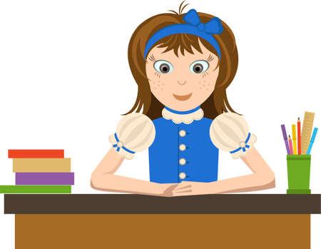 young schoolgirl: schoolgirl