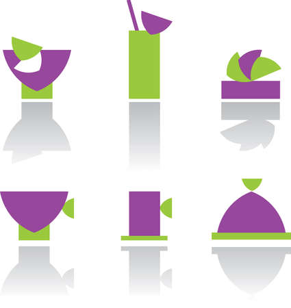 Cookware icons Stock Vector - 10563895