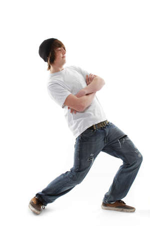 Male teenager skate board dude Stock Photo - 9321806