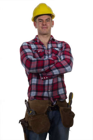 construction worker Stock Photo - 13602824