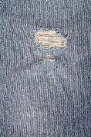 faded: worn Denim Jeans