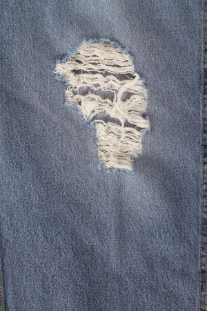 worn: worn Denim Jeans