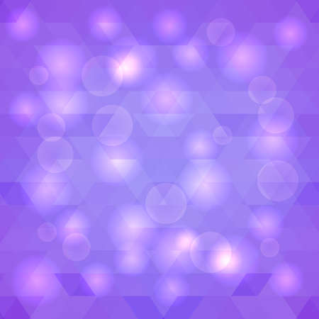 brilliancy: Violet abstract background with lights. Vector illustration. Illustration