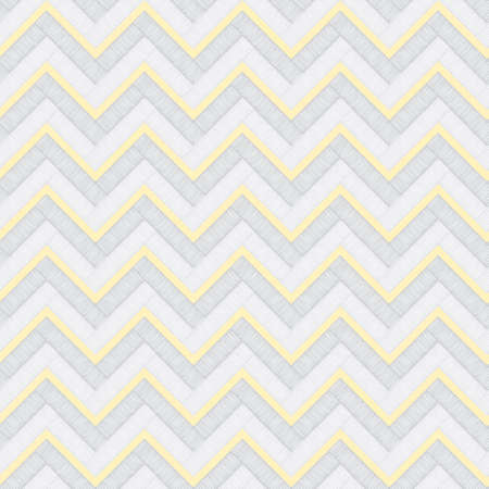 Vintage Chevron Seamless Pattern Illustration
