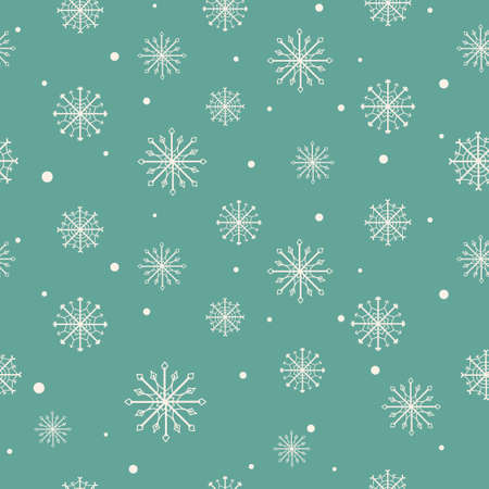 lyrics: Christmas pattern with snowflakes  Seamless pattern can be used for wallpaper, pattern fills, web page backgrounds, surface textures