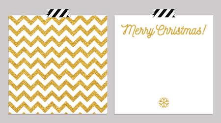 손 활판 인쇄 카드를 그려. 메리 크리스마스 인사를 손으로 문자 민트 배경에 고립입니다. 벡터 일러스트 레이 션. 일러스트