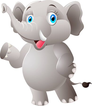 shrank: Cartoon elephant