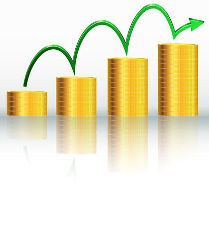 financial success: Finanzieller Erfolg Konzept