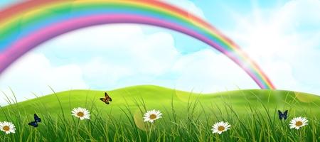 rainbow: Rainbow background