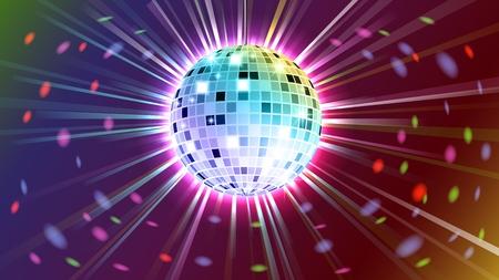 disco backdrop: Disco ball background