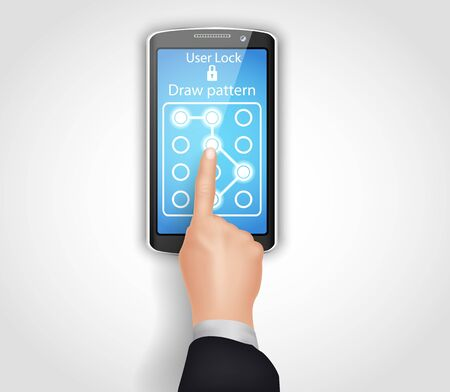 unlocking: Phone unlocking pattern