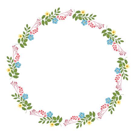 flores de cumplea�os: Florales oto�o Colecciones Frame Foto de archivo