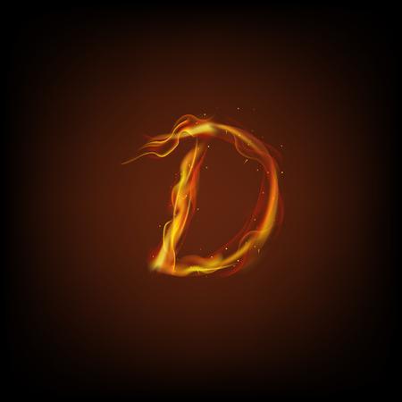 lettre de feu: Letter of fire
