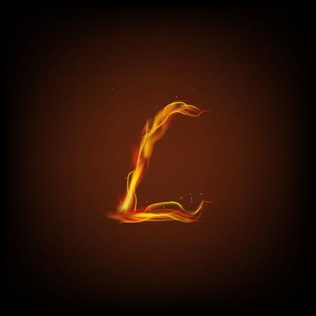 l petrol: Carta de fuego