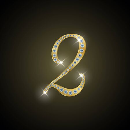 shiny gold: Shiny number 2 of gold and diamond