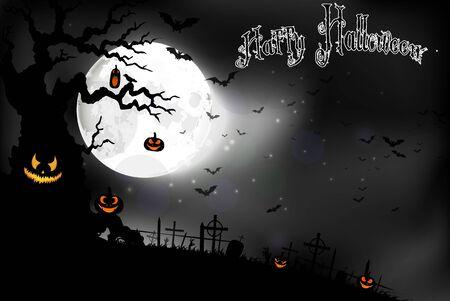 fruit background: Halloween background