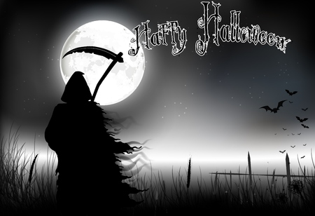 horrid: Halloween background