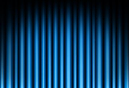 blue velvet: Curtain of blue background Illustration