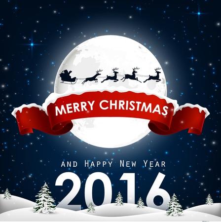 renna: Buon Natale e felice anno nuovo sfondo