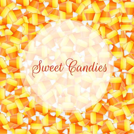 candy corn: A close up background pile of candy corn Stock Photo