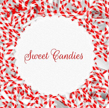 peppermint: Peppermint sticks on isolated background