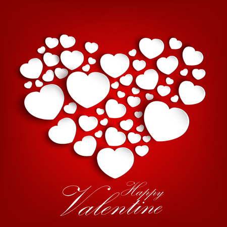heart design: Valentines Day Background with concept a heart