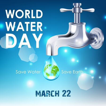 Background of World Water Day