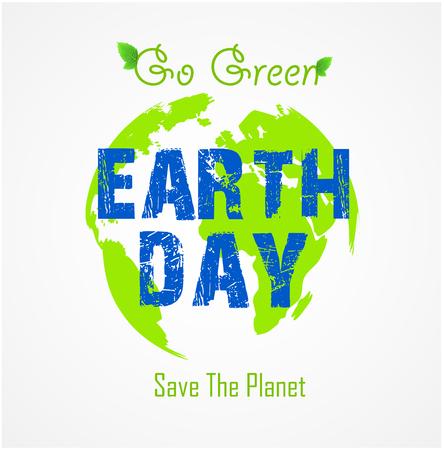go green concept: Go green concept. Save the planet