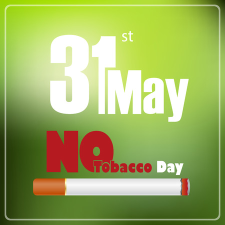 31st: May 31st World No tobacco day