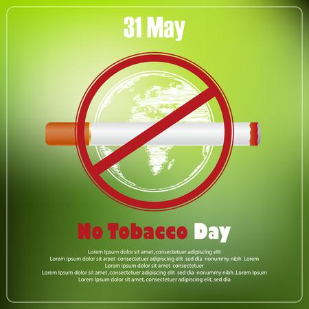 31st: May 31st World No tobacco day